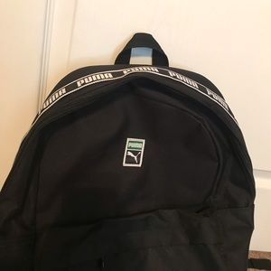 Puma backpack brand new with tags woven